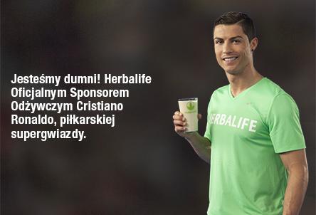 Herbalife sponsorem Cristiano Ronaldo