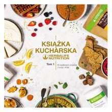 Książka kucharska Herbalife Nutrition Tom 1