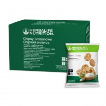 Chipsy proteinowe o smaku cebulowo-śmietanowym 10x 30g